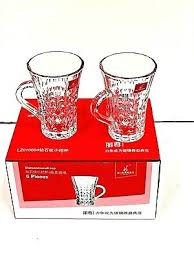 turkish tea glass tea cups set of 6