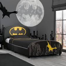 Dc Comics Batman Twin Platform Bed Batman Room Batman Bedroom Decor Batman Kids Rooms