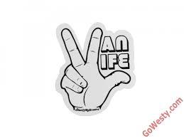 Vanlife Hand Sticker Gowesty