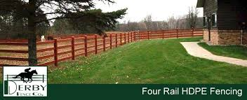 Four Rail Hdpe Horse Fence Best 4 Rail Equestrian Fencing For Horses