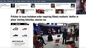 Illinois Lockdown Order Tomorrow ...