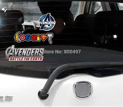 Car Styling Car Stickers The Avengers Battle For Earth Reflective Decal Car Accessory Decoration Vinyl For All The Cars Vinyl Removable Wall Stickers Stickers Fishvinyl Silver Aliexpress