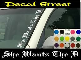 Vertical Windshield Decals Lost Coast Signs Swag