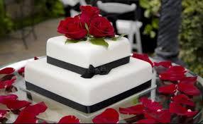 بالصور أجمل كعكات الزفاف باللون الأحمر صحيفة البلاد السعودية