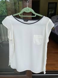 m s autograph white blouse women s