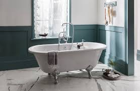 victorian bathroom with tiles