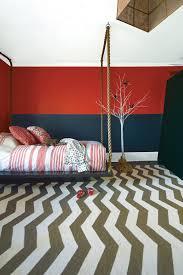 Kids Bedroom With Chevron Rug Janovic