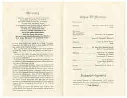 Funeral Program for Addie O. Phillips, November 27, 1981] - The ...