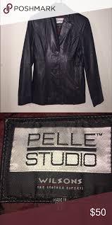 wilsons pelle studio leather coat