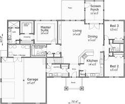 plans one story with bonus room
