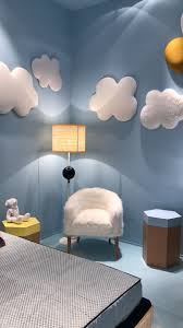 Give A Different Decoration To Kids Rooms With Cloud Inspired Decorations Find Out More At Circu Net Kids Bedroom Decor Creative Kids Rooms Kid Room Decor