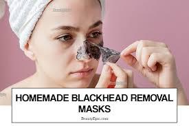 blackhead removal mask 7 diy recipes