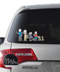 Family Stickers Family Car Sticker Set Best Price And Reviews Zulily