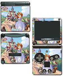 Princess Sofia The First Dress Doll Cartoon Video Game Vinyl Decal Skin Sticker Cover For Nintendo Gba Sp Gameboy Advance System By Vinyl Skin Designs Amazon Co Uk Pc Video Games