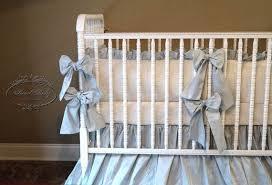 baby bedding in baby pink silk with