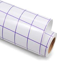 Amazon Com Clear Vinyl Transfer Paper Tape Roll 12 X 6 Ft Purple Grid Application Tape For Silhouette Cameo Cricut Adhesive Vinyl For Decals Signs Windows Stickers Arts Crafts Sewing