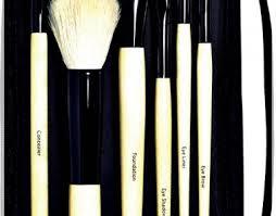 bamboo makeup brush set 8376