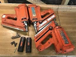 3x paslode im350 first fix nail guns