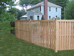 Cedar Semi Private Fence Board On Board Traditional Pool Boston By Avo Fence Supply