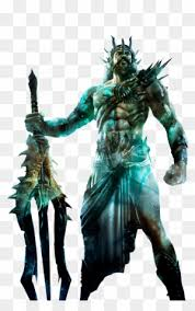 Poseidon Sticker God Of War Png Free Transparent Png Clipart Images Download