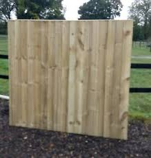 10 Feather Edge Close Board Fence Panels 1 65m X 1 83m Wooden Garden Fencing Ebay