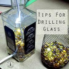 tips for drilling glass bottles how