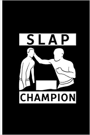 """Slap Champion: Brave Game Perfect Gift Lined Notebook/Journal (6""""x9""""):  Hawkins, Abby: 9781073780174: Amazon.com: Books"""
