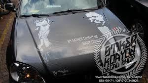 The Godfather Scarface Vinyl Cut Out Stikerkoayoz Decal Shop Facebook