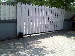 automatic sliding gate opener you