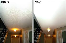 popcorn textured ceiling repairs and