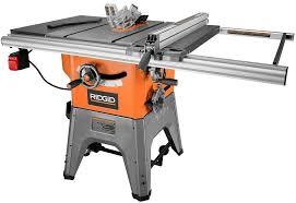 Ridgid R4512 10 In 13 Amp Cast Irontable Saw Amazon Com
