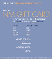 today only the gift card event