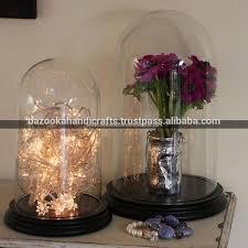 clear glass dome glass belljar dome