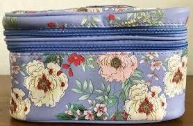 new yumi kim makeup train case in blue