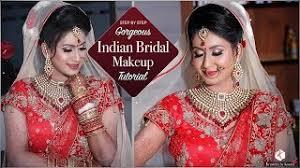 real bridal makeup tutorial video