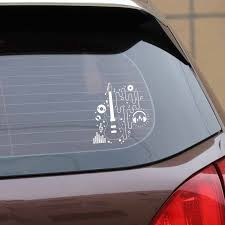 Yjzt 14 9cm 16cm Electric Guitar Player Musician Rock Music Vinyl Car Sticker C22 0691 Car Stickers Aliexpress