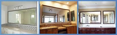 custom bathroom mirror headquarters
