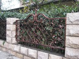 Decorative Fence Ideas Icmt Set Decorative Fencing For Front Yard