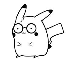 Pokemon Pikachu Harry Potter V6 Die Cut Vinyl Decal Sticker Decals City
