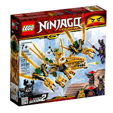 LEGO Ninjago The Golden Dragon Building Set 70666 (171 Pieces) -  Walmart.com - Walmart.com