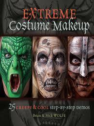 extreme costume makeup national