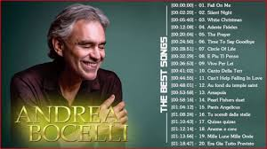 Andrea Bocelli Greatest Hits Playlist ...