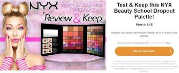 get free makeup sles in the uk