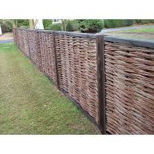 Willow Fence Panels Willow Fence Panels Fence Screening Willow Fence