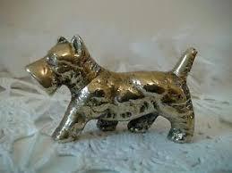 br dog figurine scottish terrier
