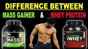 m gainer and whey protein