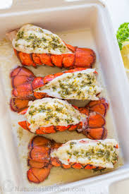 Lobster Tails Recipe with Garlic Lemon ...