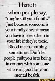 family hate quotes