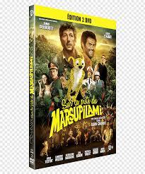 Alain Chabat Sur la piste du Marsupilami Blu-ray disc DVD YouTube ...