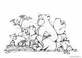 Gratis Kleurplaat Beren Poppedesigns Kinderkamerposters